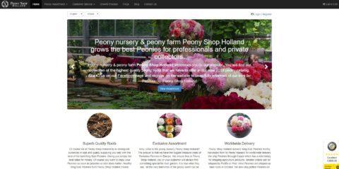 Peony Shop Holland 2018